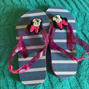Toddler girl flip flops with straps